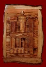 Click  to see enlarged pictures of Petra Carved on Olive Wood