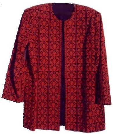 RED JACKET-Arabic Cross Stitch Embroidery, Palestinian embroidered (cross stitch) dresses, Free Shipping, Palestinian embroidered (cross stitch) Jackets, Palestinian embroidered (cross stitch) Shawls , Palestinian embroidered (cross stitch) Vests, Palestinian embroidered (cross stitch) cushions, Palestinian embroidered (cross stitch) pillows, Palestinian embroidered (cross stitch) Wall hangings