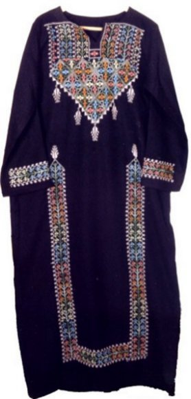 DRESSES - Arabic Cross Stitch Embroidery, Palestinian embroidered (cross stitch) dresses, Free Shipping, Palestinian embroidered (cross stitch) Jackets, Palestinian embroidered (cross stitch) Shawls , Palestinian embroidered (cross stitch) Vests, Palestinian embroidered (cross stitch) cushions, Palestinian embroidered (cross stitch) pillows, Palestinian embroidered (cross stitch) Wall hangings